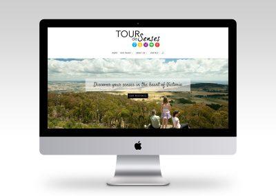 Tour De Senses Website Design