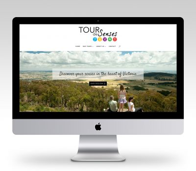 Tour De Senses Website Design