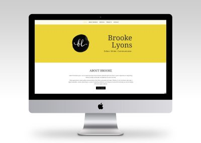Brooke Lyons Communications Consultant Website