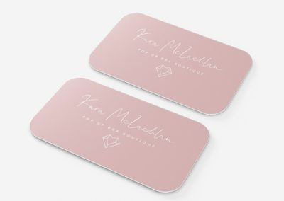 Logo and Business Card Design – Kara McLachlan